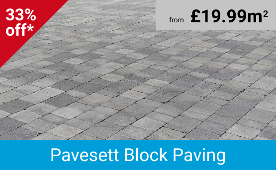 Save 33% - Driveway Block Paving from £19.99m2