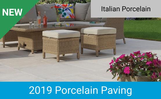 New 2019 Porcelain Paving Range