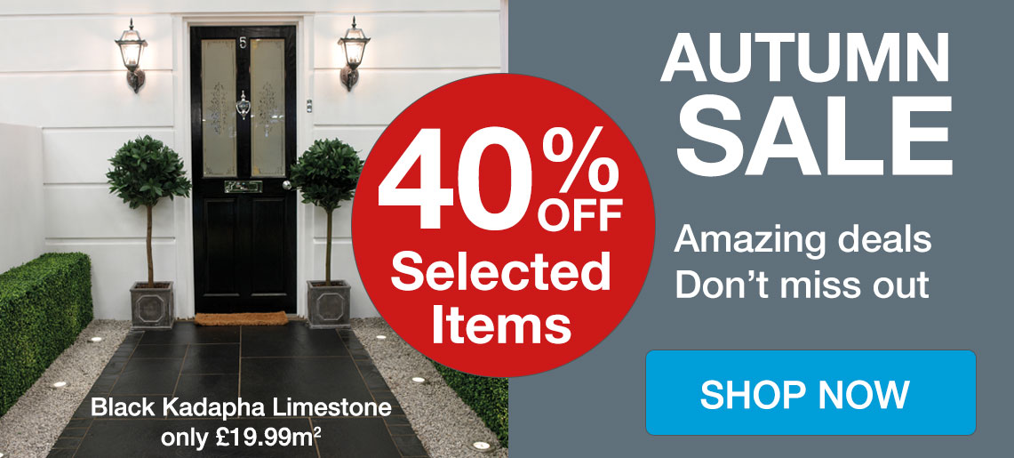 Autumn Sale - Save Up to 40% Off
