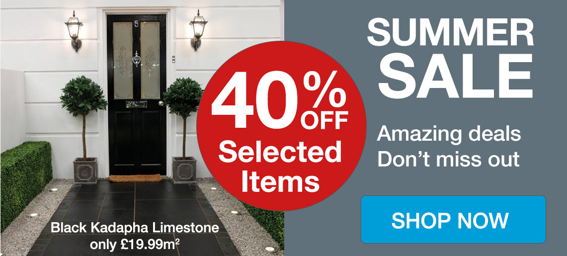 Summer Sale - Save Up to 40% Off