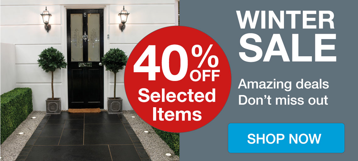 Winter Sale - Save Up to 40% Off